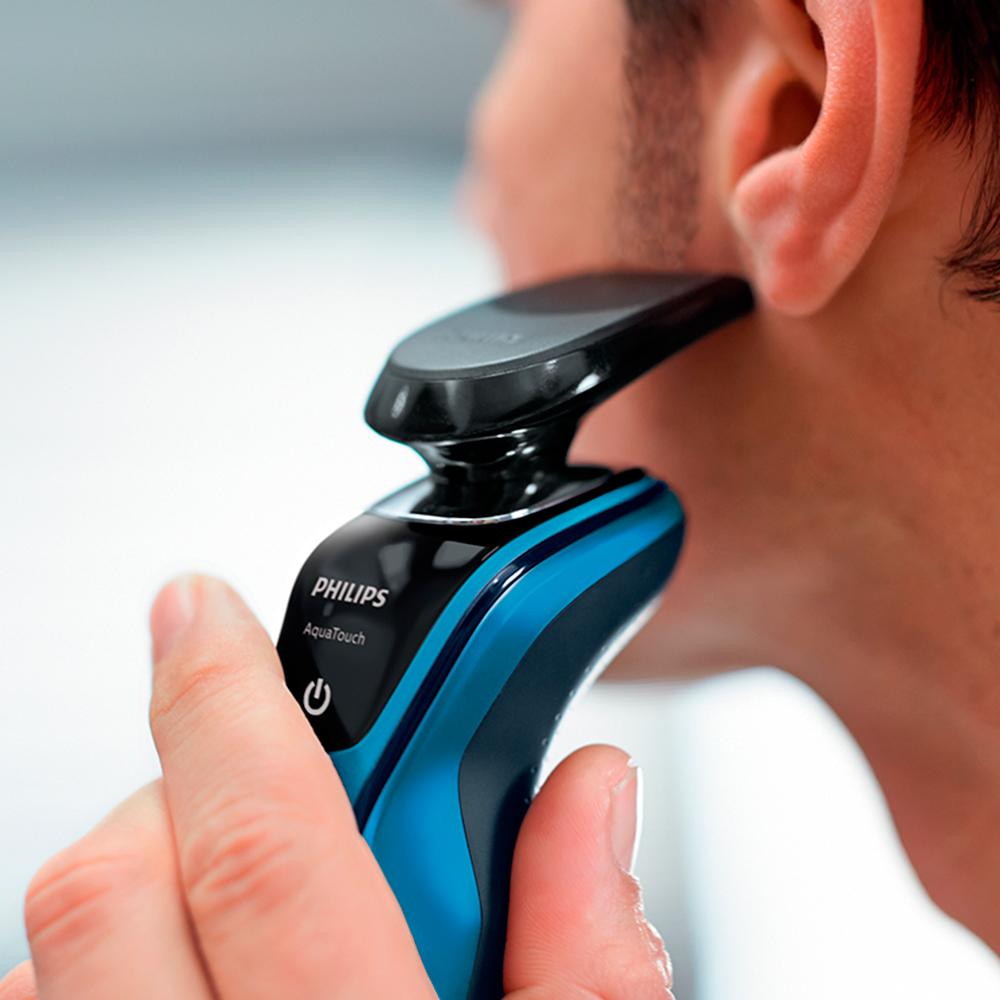 Afeitadora Eléctrica uso en Seco y Húmedo 5 direcciones - S5050/04